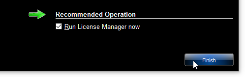 Run License Manager